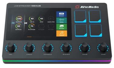 【AVerMedia】LIVE STREAMER NEXUS AX310が発売します